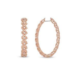 Серьги Diamonds   Roman Barocco (Large oval version)