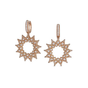 Серьги Diamonds   Roman Barocco (Sun-shaped)