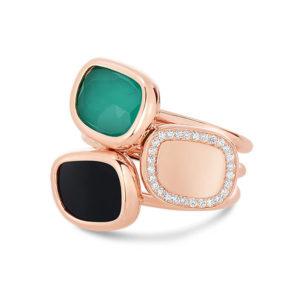 Кольцо Green Agate   Black Jade Roberto Coin