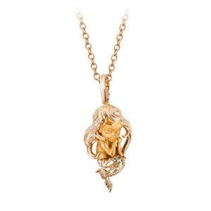 Колье Little Mermaid Yellow Gold | Little Magic Magerit