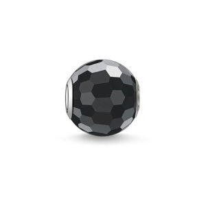 "Бусина ""Obsidian Faceted"" Thomas Sabo"
