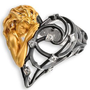 Кольцо Corazon Mujer | Versailles Magerit