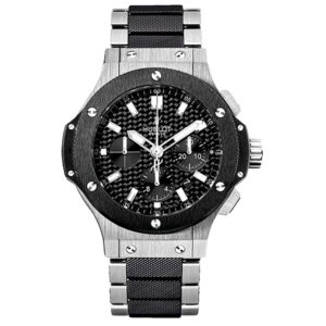 Часы Big Bang Chronograph Steel Ceramic Bracelet 44mm