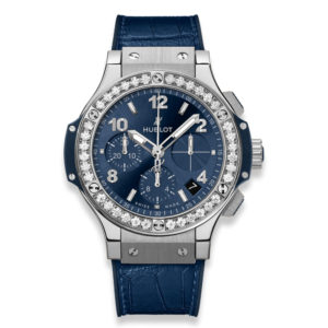 Часы Hublot Big Bang Steel Blue Diamonds 41mm