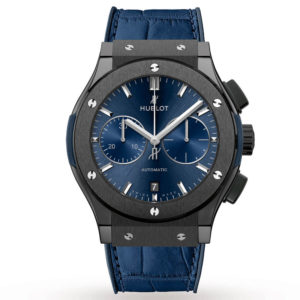 Часы Hublot  Classic Fusion Chronograph Ceramic Blue 45mm