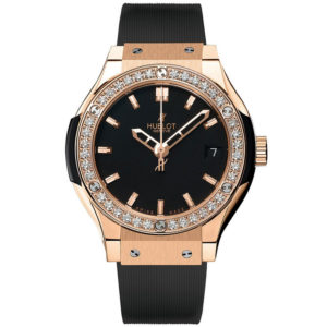 Часы Hublot Classic Fusion Quartz Gold Ladies 581.OX.1180.RX.1104