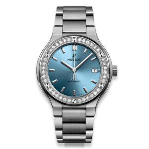 Classic Fusion Titanium Light Blue568.NX.891L.NX.1204 Hublot