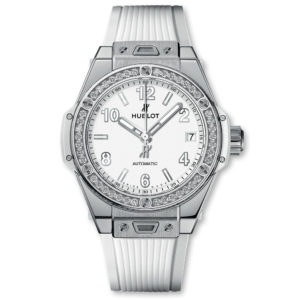 Big Bang One Click Steel White Diamonds 465.SE2010.RW.1204 Hublot